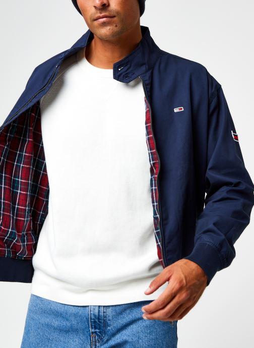 Vêtements Tommy Jeans TJM Cuffed Cotton Jacket Bleu vue détail/paire