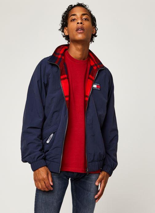Kleding Accessoires TJM Reversible Plaid Jacket