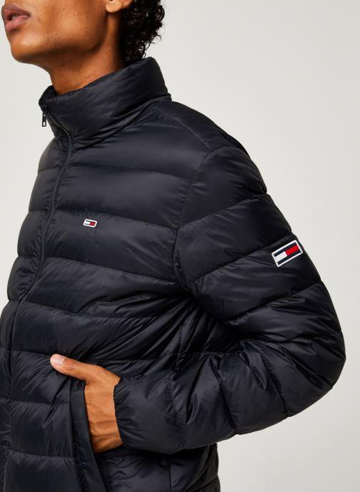 Vêtements Tommy Jeans TJM Packable Light Down Jacket Noir vue face