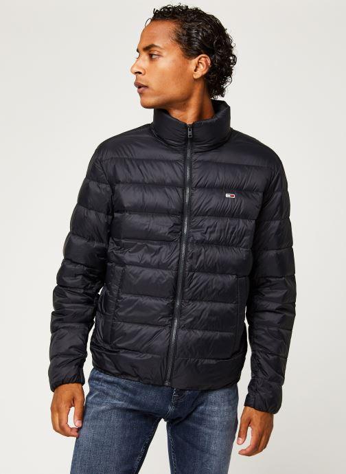 Vêtements Tommy Jeans TJM Packable Light Down Jacket Noir vue droite
