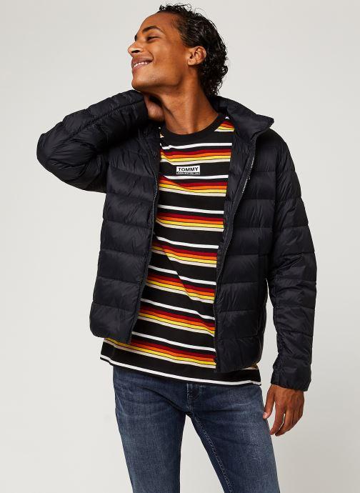 Vêtements Tommy Jeans TJM Packable Light Down Jacket Noir vue détail/paire