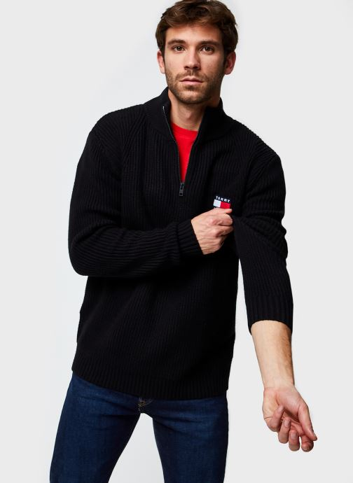 Pull - Tjm Tommy Badge Halfzip Sweater