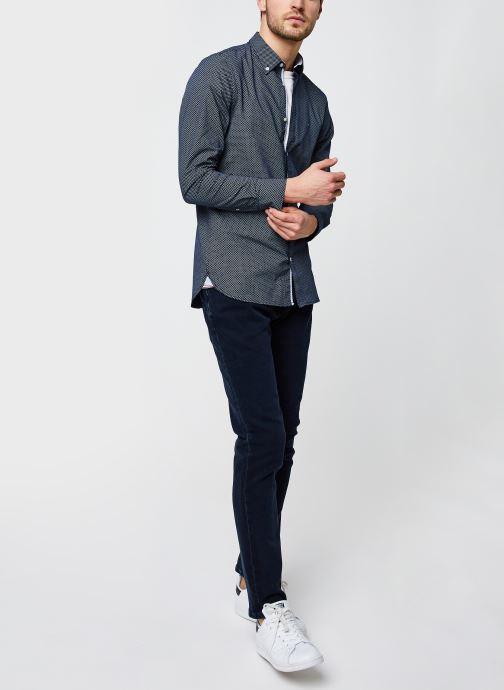 Vêtements Tommy Jeans Scanton Slim Olbbcf Bleu vue bas / vue portée sac