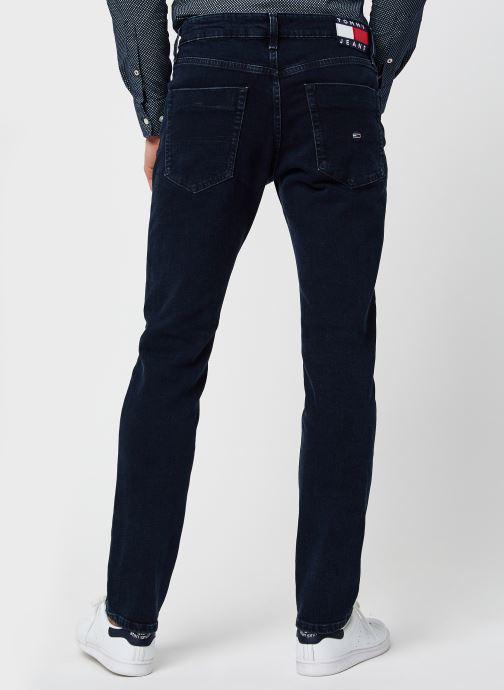 Vêtements Tommy Jeans Scanton Slim Olbbcf Bleu vue portées chaussures