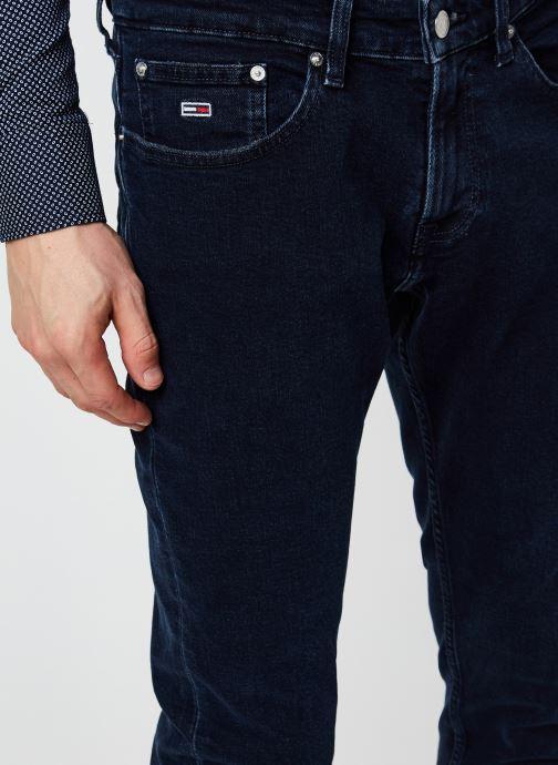 Vêtements Tommy Jeans Scanton Slim Olbbcf Bleu vue face
