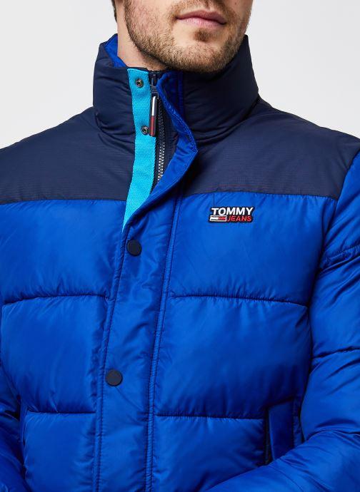 Vêtements Tommy Jeans TJM Corp Puffa Jacket Bleu vue face