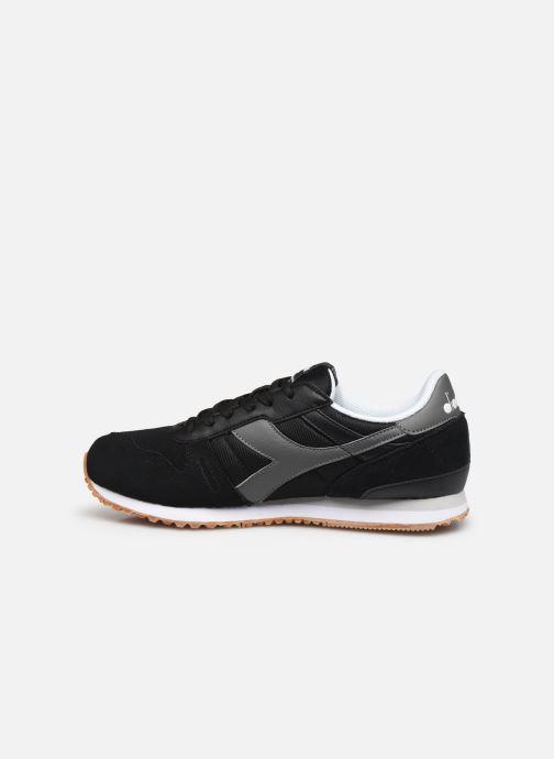 Sneaker Diadora TITAN WN SOFT schwarz ansicht von vorne