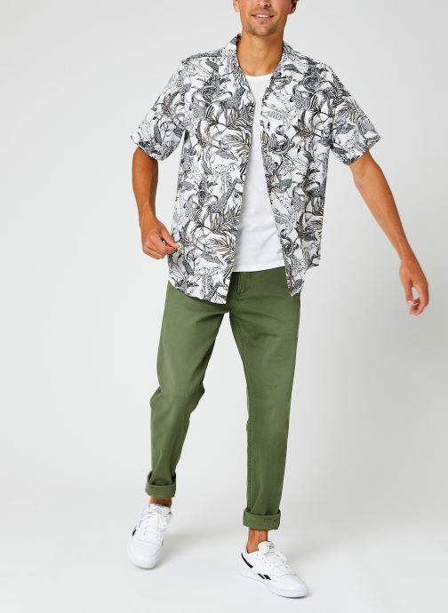 Vêtements Dockers Smart Supreme Flex - Alpha Original Tapered Vert vue bas / vue portée sac
