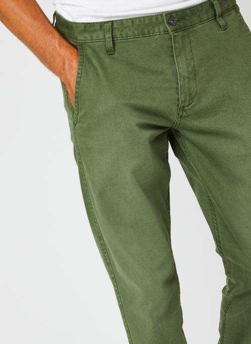 Vêtements Dockers Smart Supreme Flex - Alpha Original Tapered Vert vue face