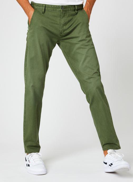Vêtements Dockers Smart Supreme Flex - Alpha Original Tapered Vert vue détail/paire