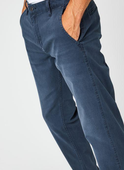 Vêtements Dockers Smart Supreme Flex - Alpha Original Tapered Bleu vue face