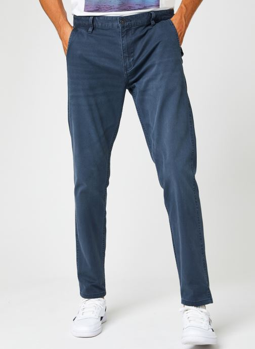 Vêtements Dockers Smart Supreme Flex - Alpha Original Tapered Bleu vue détail/paire