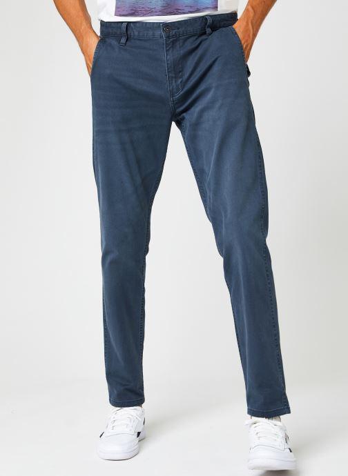 Vêtements Dockers Smart Supreme Flex - Alpha Original Tapered Bleu vue détail/paire