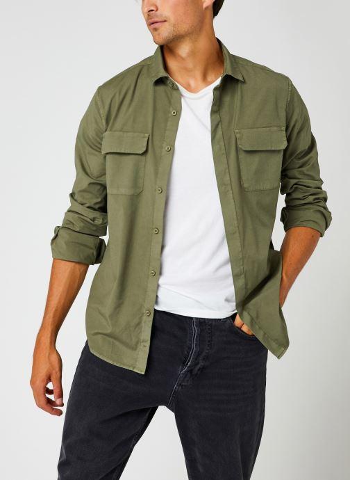Vêtements Dockers Sustainable Utility Shirt Vert vue détail/paire