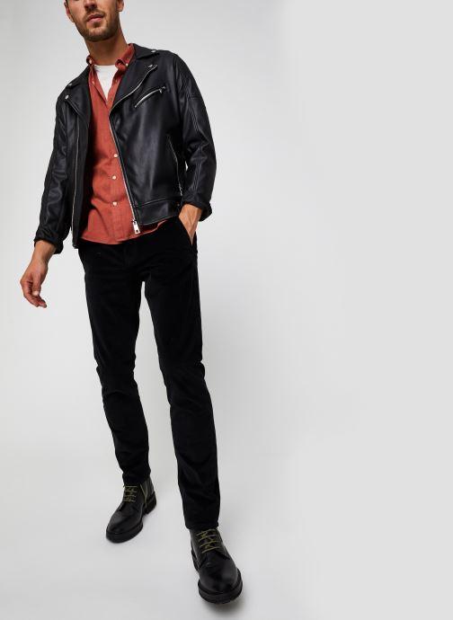 Vêtements Dockers Smart 360 Flex Alpha Slim Cord Noir vue bas / vue portée sac