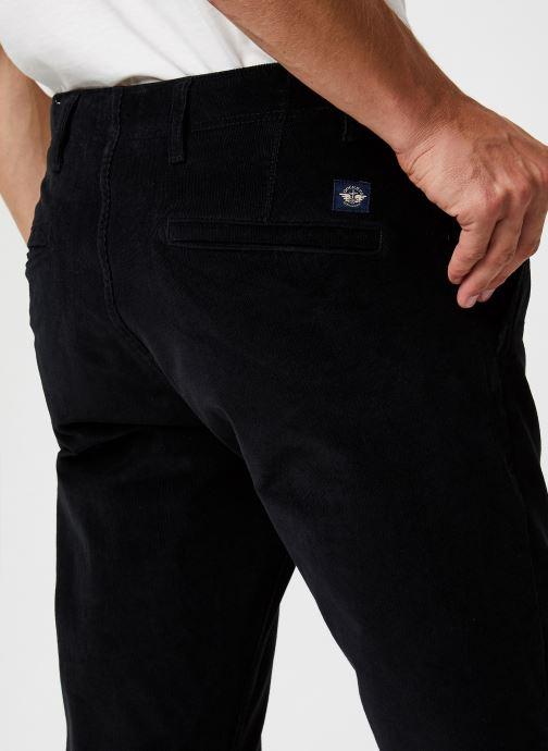 Vêtements Dockers Smart 360 Flex Alpha Slim Cord Noir vue face