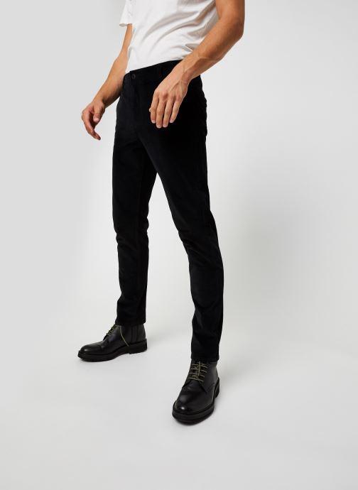 Vêtements Dockers Smart 360 Flex Alpha Slim Cord Noir vue détail/paire