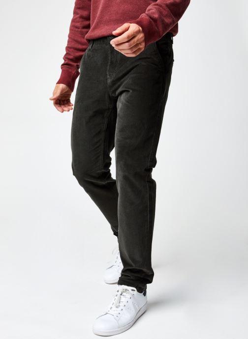Vêtements Dockers Smart 360 Flex Alpha Slim Cord Gris vue détail/paire