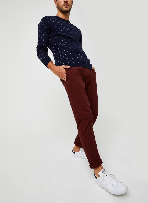 Vêtements Dockers Smart 360 Flex Chino - Tapered Rouge vue bas / vue portée sac
