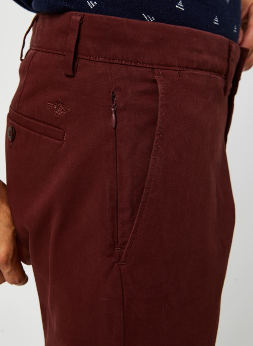 Vêtements Dockers Smart 360 Flex Chino - Tapered Rouge vue face