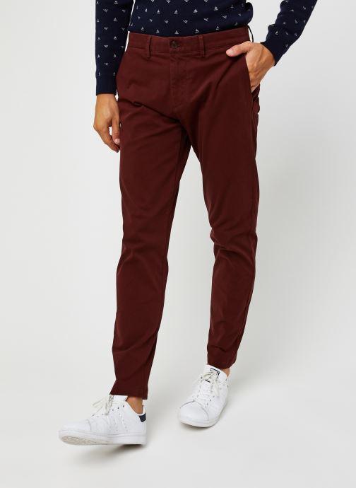 Vêtements Dockers Smart 360 Flex Chino - Tapered Rouge vue détail/paire