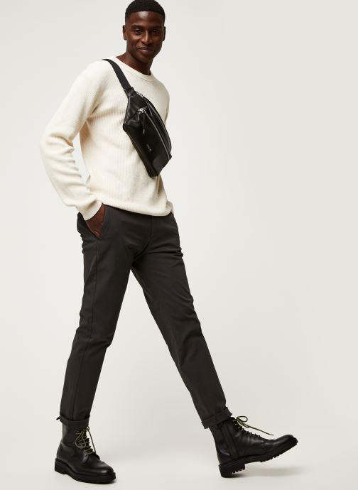 Vêtements Dockers Smart 360 Flex Chino - Tapered Gris vue bas / vue portée sac