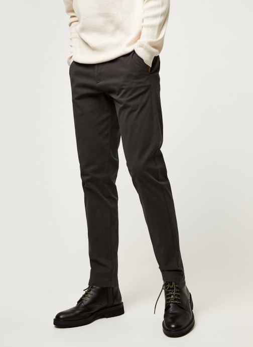 Vêtements Dockers Smart 360 Flex Chino - Tapered Gris vue détail/paire