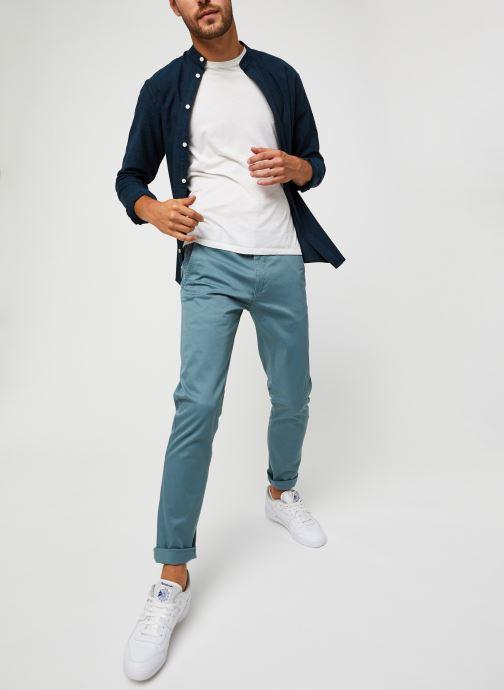 Vêtements Dockers Alpha Original Khaki - Skinny Bleu vue bas / vue portée sac