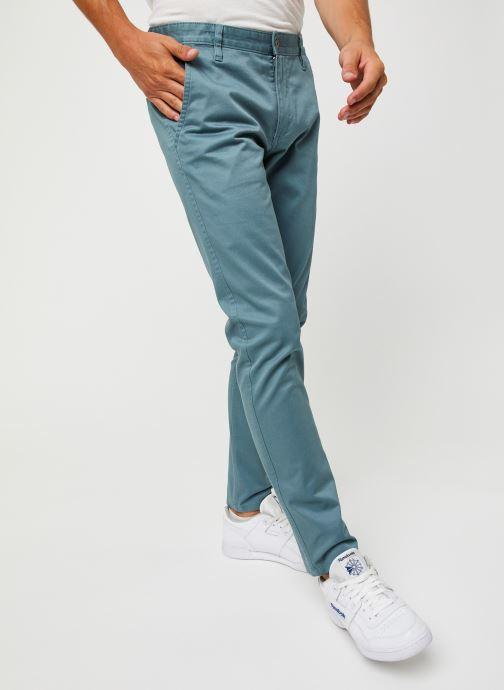Vêtements Dockers Alpha Original Khaki - Skinny Bleu vue détail/paire
