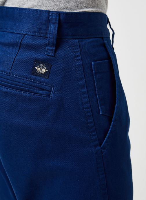 Vêtements Dockers Alpha Original Khaki - Slim Bleu vue face