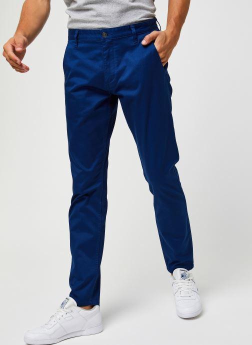 Vêtements Dockers Alpha Original Khaki - Slim Bleu vue détail/paire