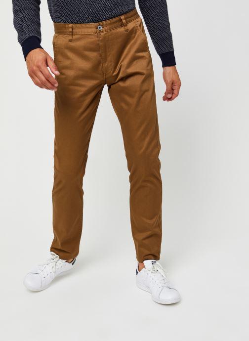 Vêtements Dockers Alpha Original Khaki - Slim Marron vue détail/paire