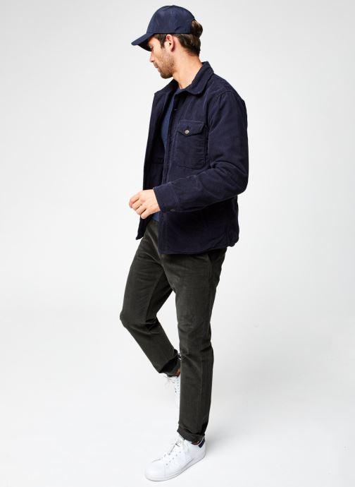 Vêtements Dockers Merino Crewneck Sweater Bleu vue bas / vue portée sac