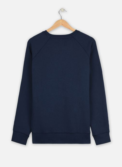 Vêtements Dockers Logo Crewneck Sweatshirt Bleu vue portées chaussures