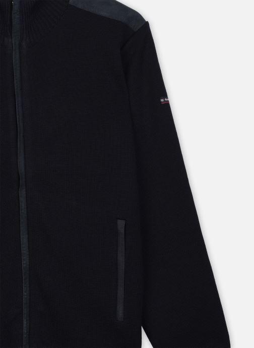 "Kleding Armor Lux Cardigan ""Carnac"" Homme Blauw voorkant"