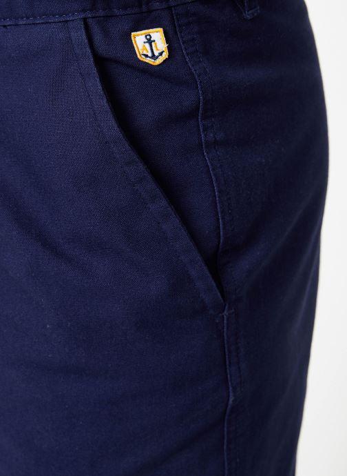 """Vêtements Armor Lux Pantalon """"Gabare"""" Héritage Homme Bleu vue face"""