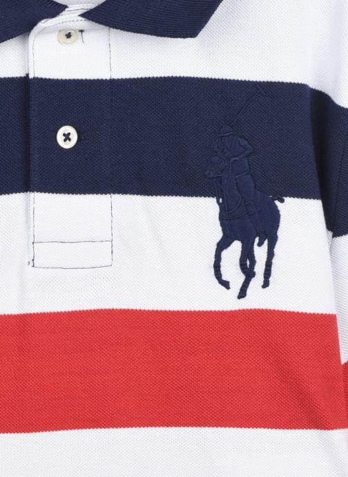 Vêtements Polo Ralph Lauren SS KC-TOPS-KNIT Bleu vue face