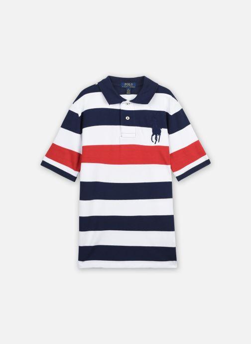 Vêtements Polo Ralph Lauren SS KC-TOPS-KNIT Bleu vue détail/paire