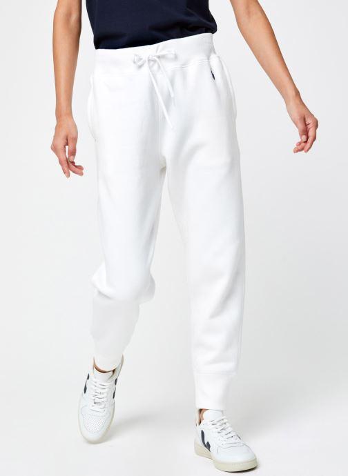 Vêtements Polo Ralph Lauren Po Sweatpant-Ankle Blanc vue détail/paire