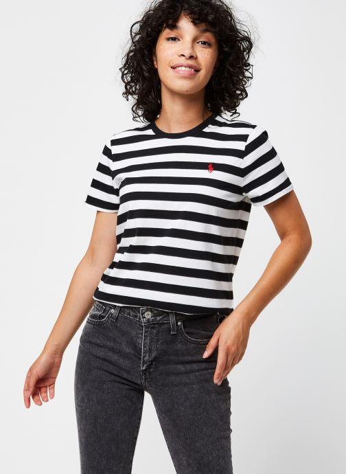 Vêtements Polo Ralph Lauren Stripe Rl T-Short Sleeve Noir vue détail/paire