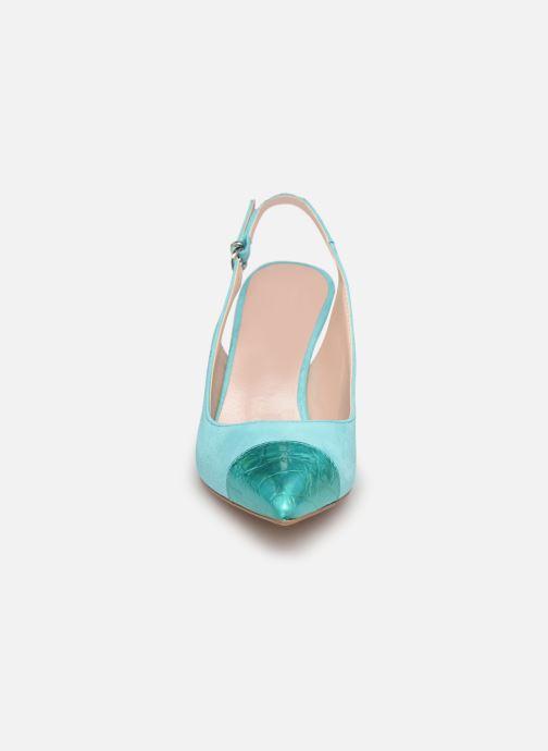 Zapatos de tacón Elizabeth Stuart RAF 624 Verde vista del modelo