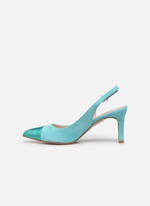 Zapatos de tacón Elizabeth Stuart RAF 624 Verde vista de frente