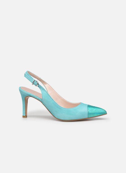 Zapatos de tacón Elizabeth Stuart RAF 624 Verde vistra trasera