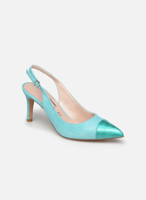 Zapatos de tacón Elizabeth Stuart RAF 624 Verde vista de detalle / par