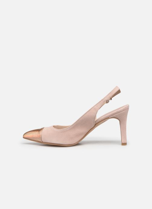 Zapatos de tacón Elizabeth Stuart RAF 624 Rosa vista de frente