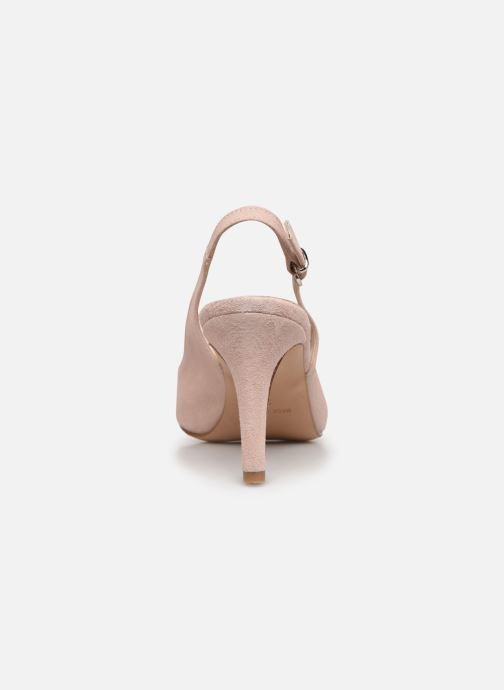 Zapatos de tacón Elizabeth Stuart RAF 624 Rosa vista lateral derecha