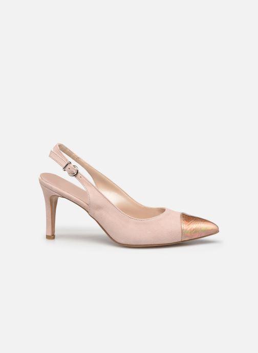 Zapatos de tacón Elizabeth Stuart RAF 624 Rosa vistra trasera