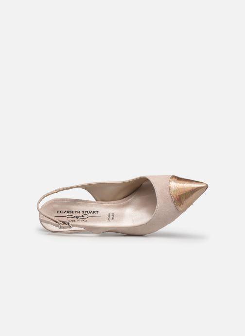 Zapatos de tacón Elizabeth Stuart RAF 624 Rosa vista lateral izquierda