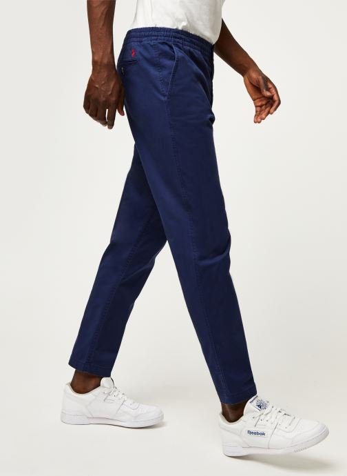 Pantalon Tapered Fit Cotton Stretch Pony