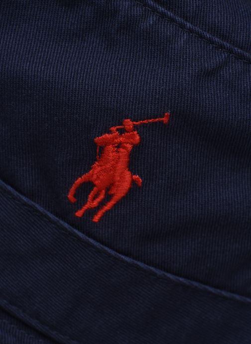 Cappello Polo Ralph Lauren Chapeau Bob Pony Azzurro modello indossato